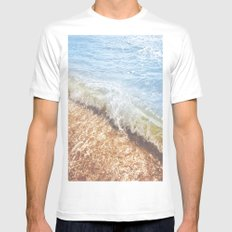 La Mer SMALL White Mens Fitted Tee