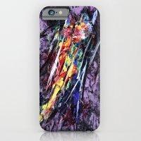 Encaustic texture experiment iPhone 6 Slim Case