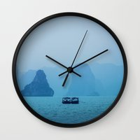 Ha Long Blues Wall Clock