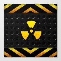 Nuclear Reactor Canvas Print