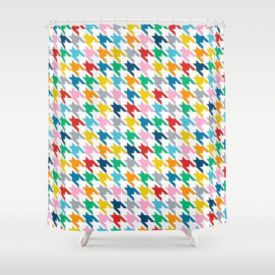 Puppytooth Shower Curtain