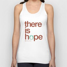 there is hope - blood:water mission  Unisex Tank Top