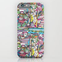 doodle owl village 2 iPhone 6 Slim Case