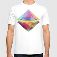 Pleiades Mens Fitted Tee White SMALL