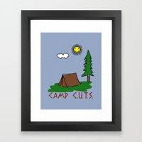 Camp C.U.T.S. Framed Art Print