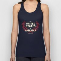 The United States of America Unisex Tank Top