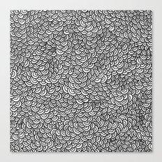 Scallops Canvas Print