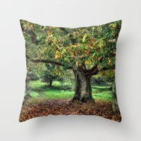 Underneath The Chestnut Tree Throw Pillow
