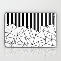 Abstract Outline Stripes… Laptop & iPad Skin