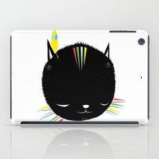 MIGHTY TIGARRR, BLACK KITTEN 묘 iPad Case