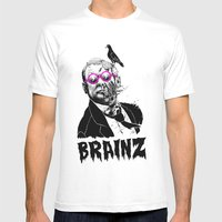 political zombie theme Mens Fitted Tee White SMALL