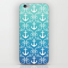 Nautical Knots Ombre iPhone & iPod Skin