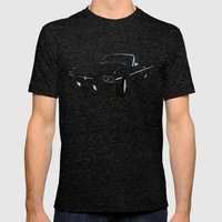 1966 Ford Thunderbird Mens Fitted Tee Tri-Black SMALL