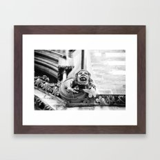 Curmudgeon Framed Art Print