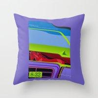 Lancia Thema Throw Pillow