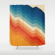Shower Curtain featuring Barricade by Tracie Andrews