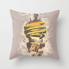 Lighting Up My World Throw Pillow