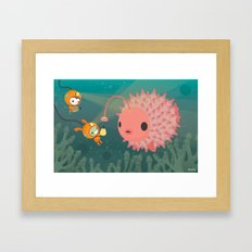 The Octonauts Pufferfish Framed Art Print