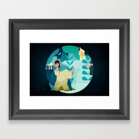I Don't Know Him (by A… Framed Art Print
