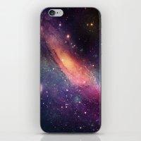 Galaxy Colorful iPhone & iPod Skin