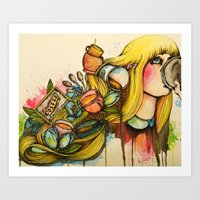 coffee lover Art Print