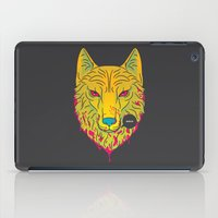The Unbridled Anger of a Decapitated Direwolf iPad Case
