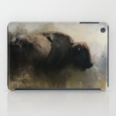Abstract American Bison iPad Case