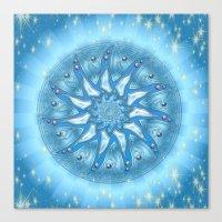 Mandala Energie Canvas Print