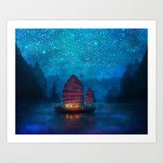 Our Secret Harbor Art Print