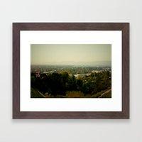 City Capture Framed Art Print
