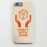 Craft With Care (Orange) iPhone 6 Slim Case