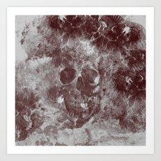 SKULL#03 Art Print