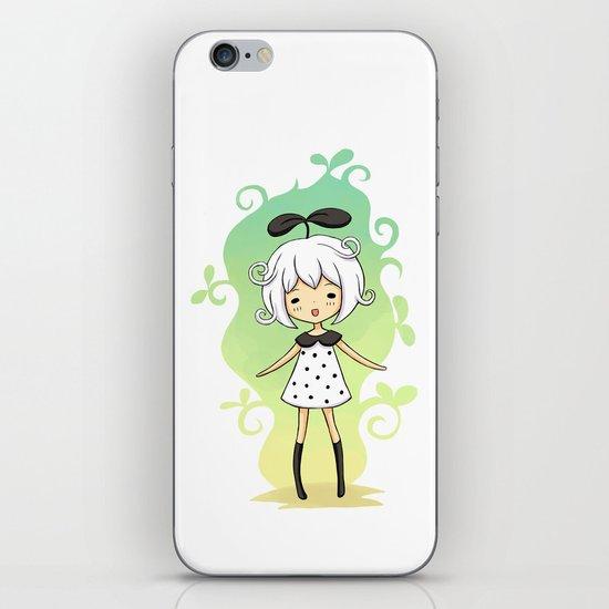 Bean Girl iPhone & iPod Skin
