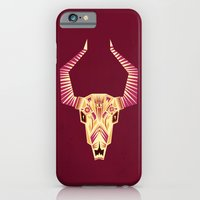 iPhone & iPod Case featuring Sugar Bull by Yetiland