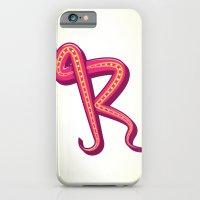 Curly R iPhone 6 Slim Case