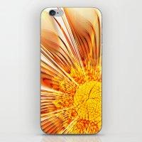 Summer Fractal Flower iPhone & iPod Skin