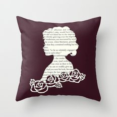 Jane Austen's Sense & Sensibility, Marianne Dashwood Throw Pillow