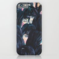 iPhone Cases featuring What are you seeing? by Katty Huertas