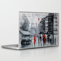 paris Laptop & iPad Skins featuring Paris by OLHADARCHUK
