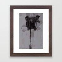leaf one Framed Art Print