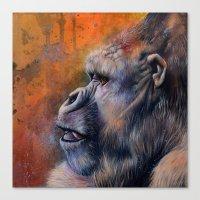 Gorilla: The Portrait of a Stolen Voice Canvas Print