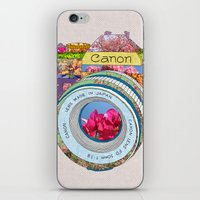 Floral Canon iPhone & iPod Skin