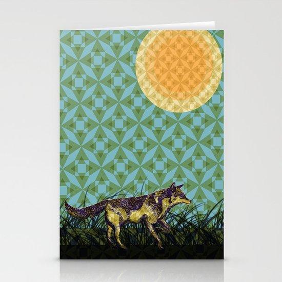 Wolf Stationery Card