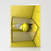 Lemon Shower Stationery Cards