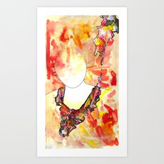 New Eyed Girl Art Print