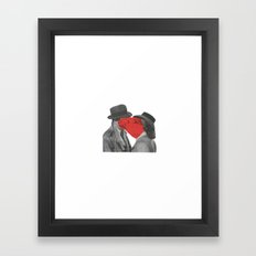 Look of Love Framed Art Print