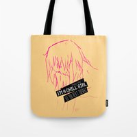 Chill Girl Tote Bag