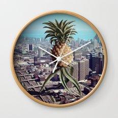 PINEAPPLEGEDDON Wall Clock