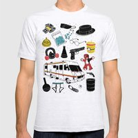 Artifacts: Breaking Bad Mens Fitted Tee Ash Grey SMALL