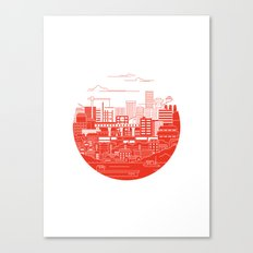 Rebuild Japan Canvas Print